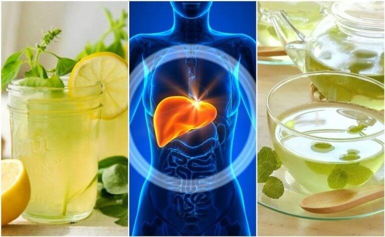 5 drikker for å rense leveren din mens du sover