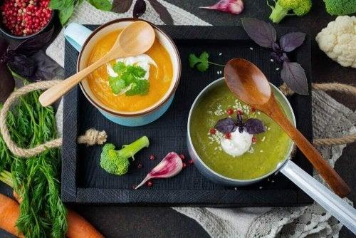 Suppe til detox-dietter