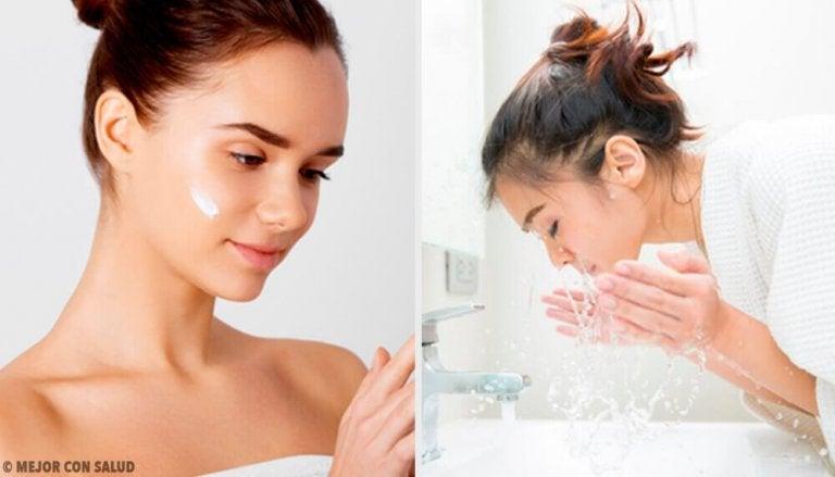 Fem feil du gjør når du skal vaske ansiktet ditt