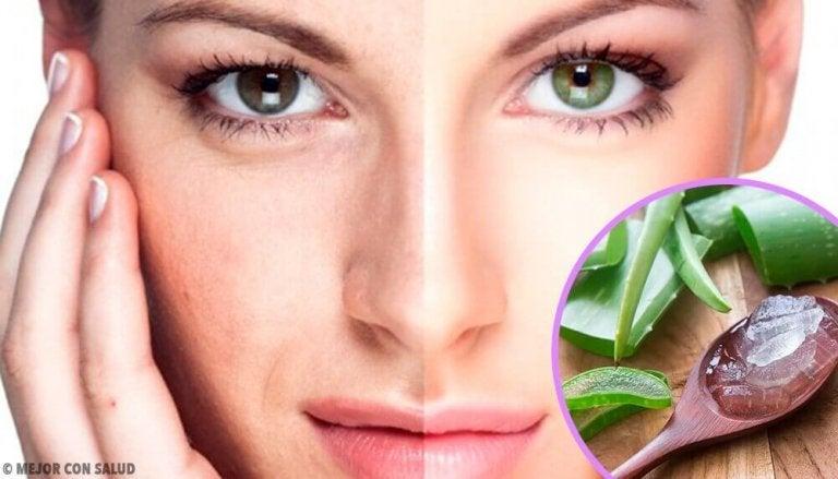4 enkle ansiktsmasker for å behandle rynker