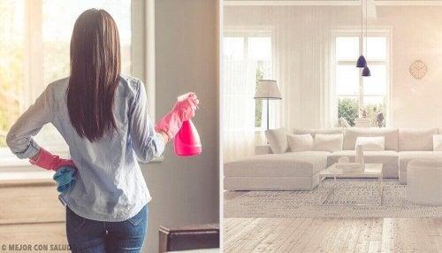 Tips for å få hjemmet ditt til å lukte friskt og godt