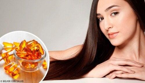 6 viktige vitaminer for sunn hårvekst