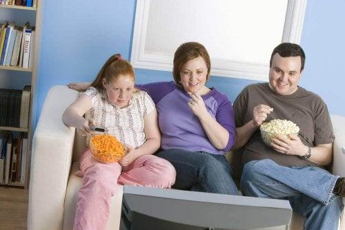 Familie med fedme