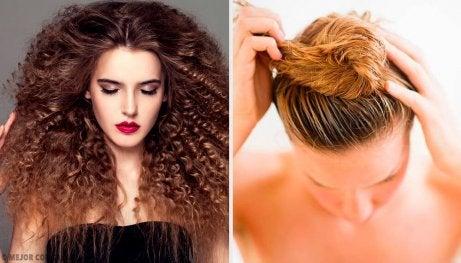 5 fantastiske frisyrer for krøllete hår