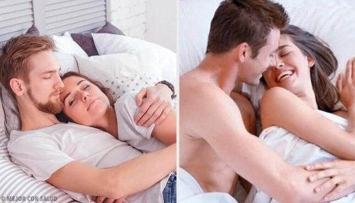 5 vaner glade par har før sengetid
