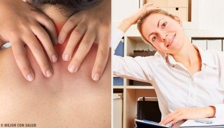 6 enkle øvelser for å lindre nakkesmerter