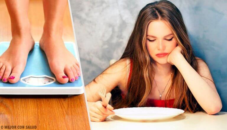 6 måter å gå ned i vekt på uten å føle sult