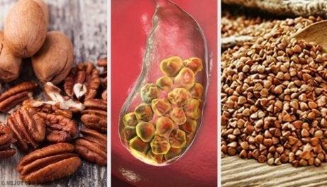 6 matvarer som bekjemper gallestein