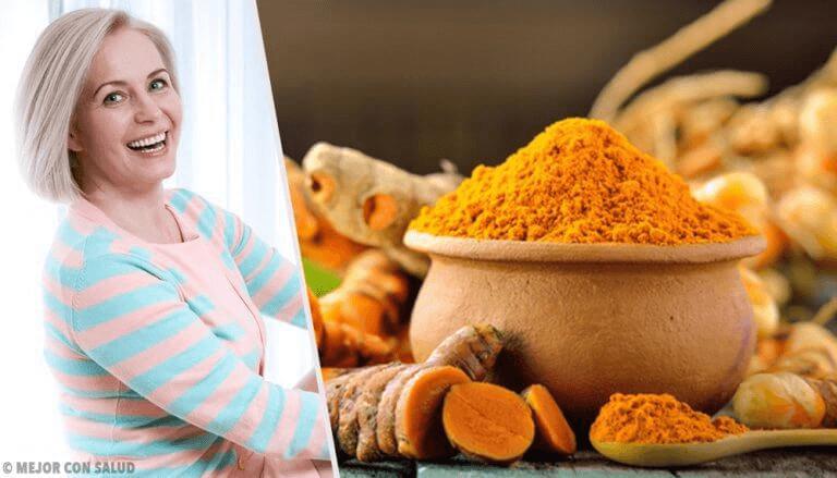 7 fordeler ved gurkemeie i overgangsalderen