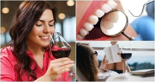 8 grunner til å drikke rødvin i moderasjon