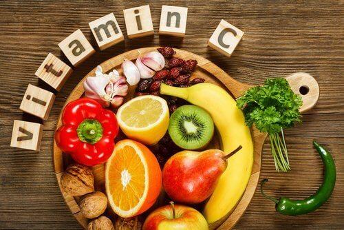 Kosthold med C-vitamin