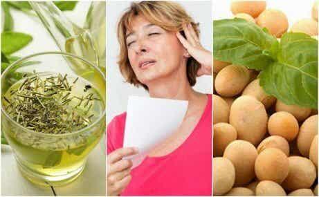 Fem naturlige produkter for å håndtere overgangsalderen