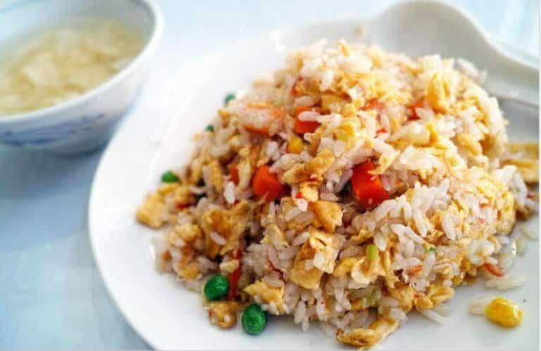 Oppskrift på deilig kinesisk ris