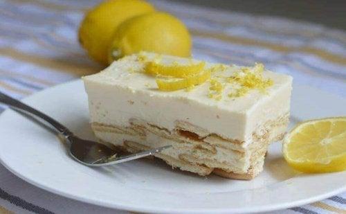 En kongelig dessert: Lemon charlotte