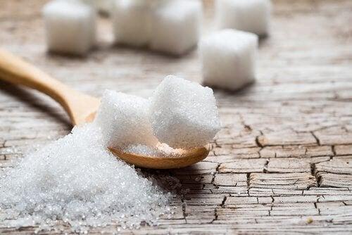 Sukker-på-skje