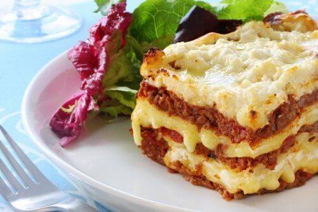 To enkle måter å tilberede lasagne på