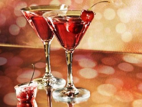 Drink med alkohol