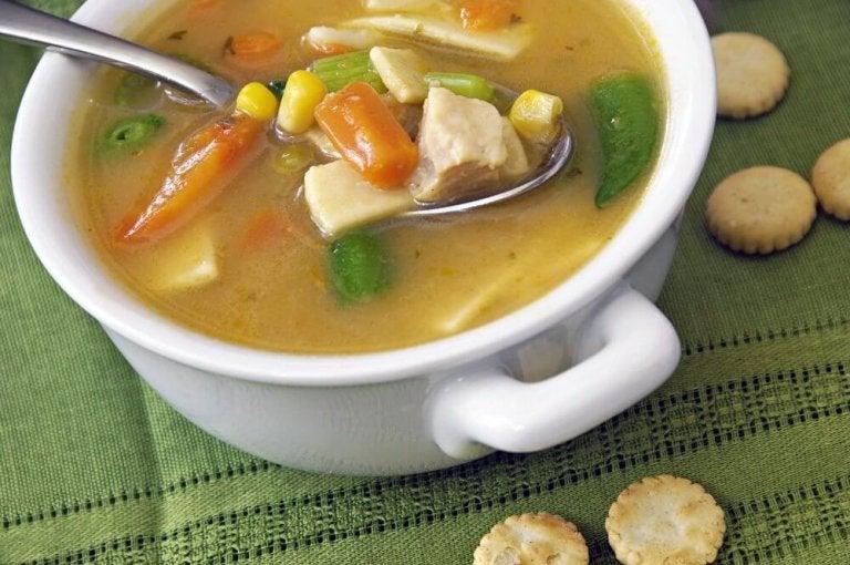 Suppe med buljong
