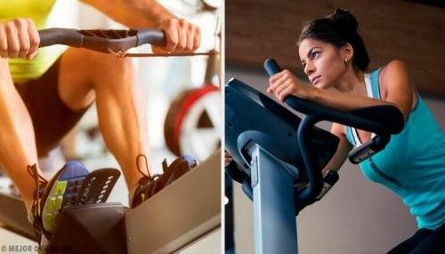 De beste treningsapparatene for å forbrenne kalorier