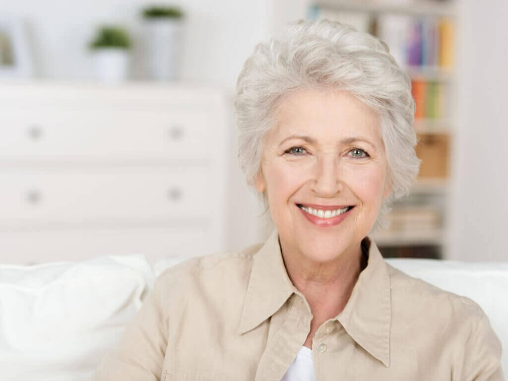 eldre kvinne