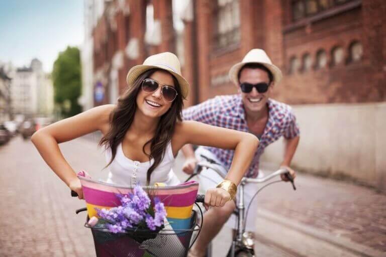 Venner sykler