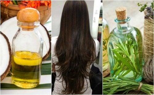 Hjemmelaget hårkur for å stimulere hårveksten