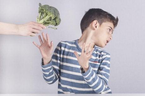Gutt liker ikke brokkoli