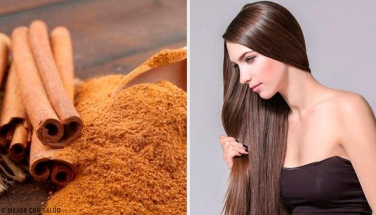 Lær hvordan kanel kan hjelpe deg med å få perfekt hår