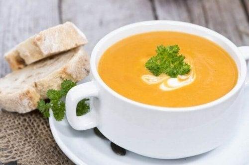 Hvilke kremete grønnsakssupper er de sunneste?