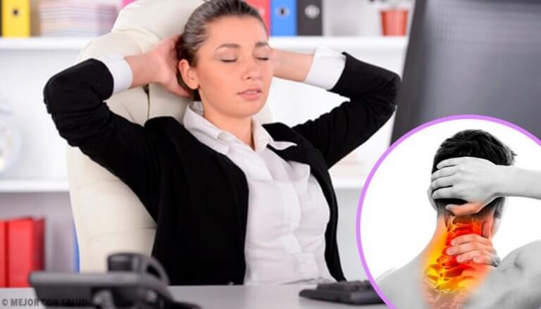 Lær hvordan du kan behandle kramper i nakken