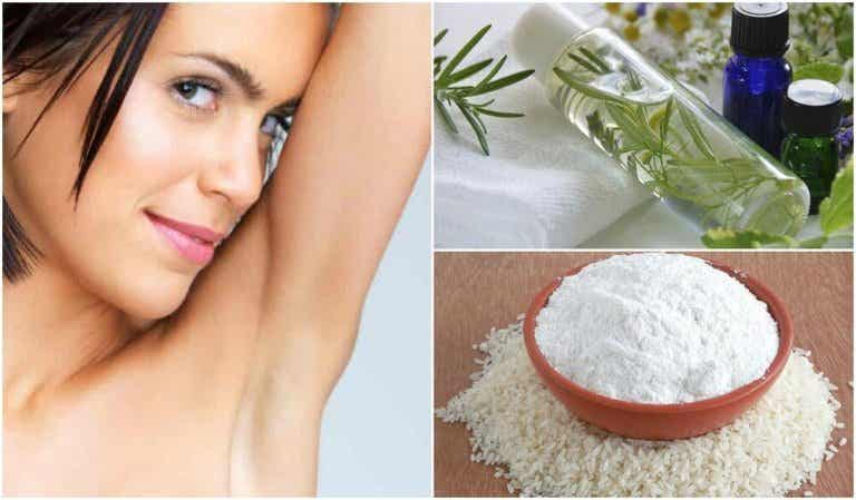 5 naturlige midler for å eliminere vond lukt i armhulene