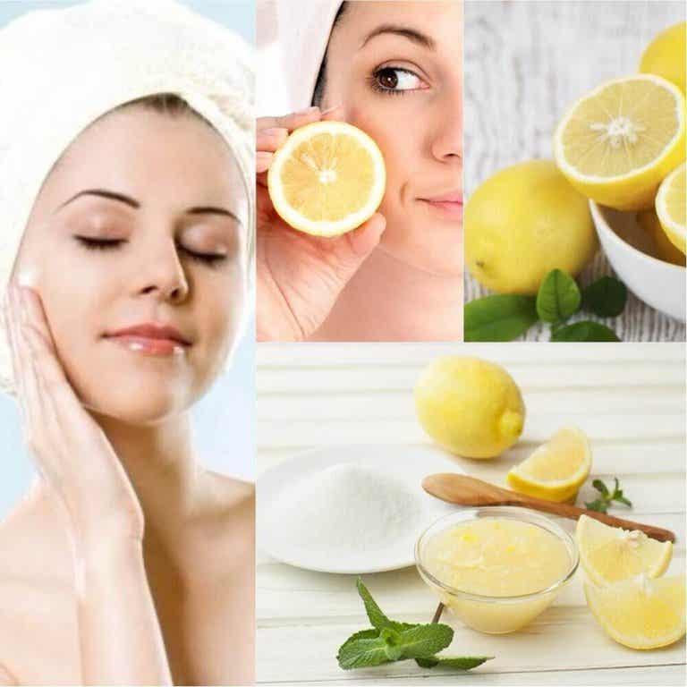 6 tips for å bruke sitron som naturlig kosmetikk på