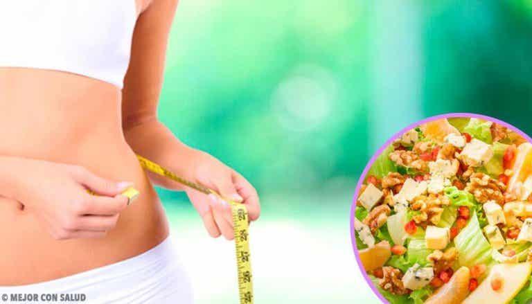 3 enkle vaner for å gå ned i vekt uten å føle deg sulten