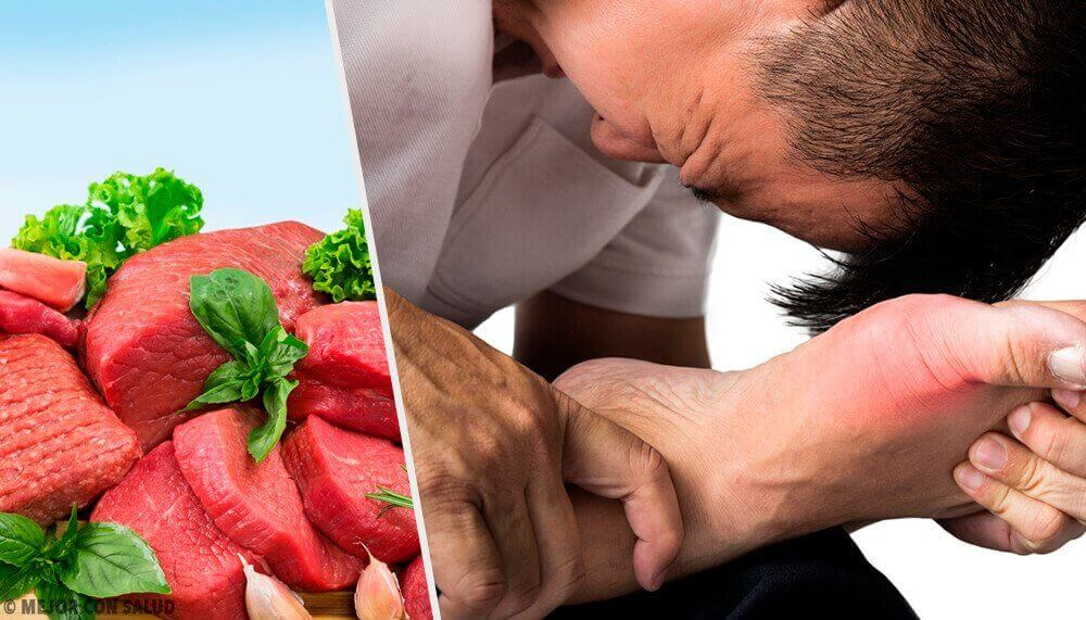 7 matvarer som øker urinsyrenivået i blodet