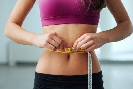 Ned i vekt