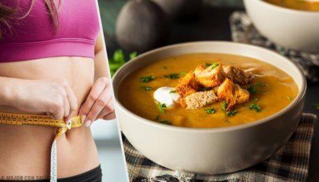 Oppdag den fettforbrennende suppe-dietten