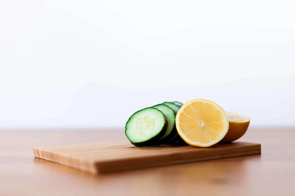 Agurk og sitron
