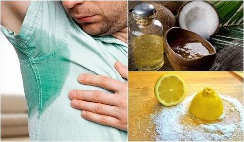 Bekjemp mye svette med 5 naturlige behandlinger