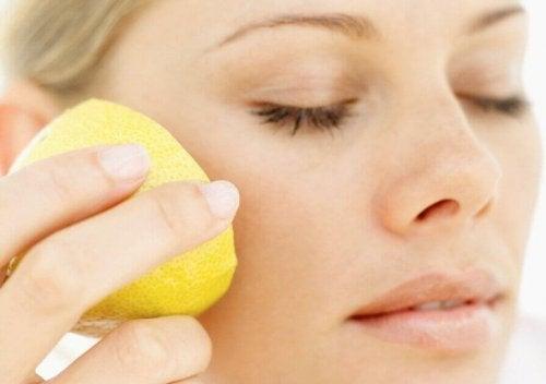Sitron som naturlig kosmetikk