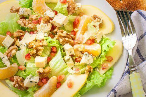 Gå ned i vekt med sunn middag