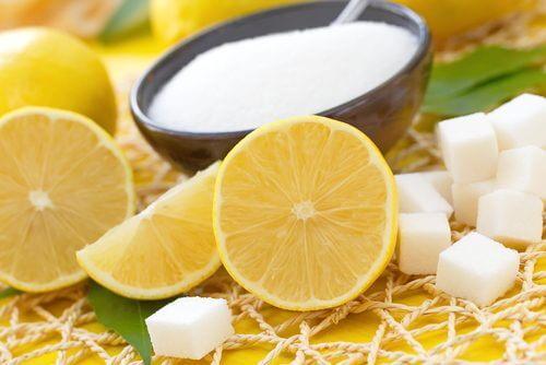 Sitron og sukker