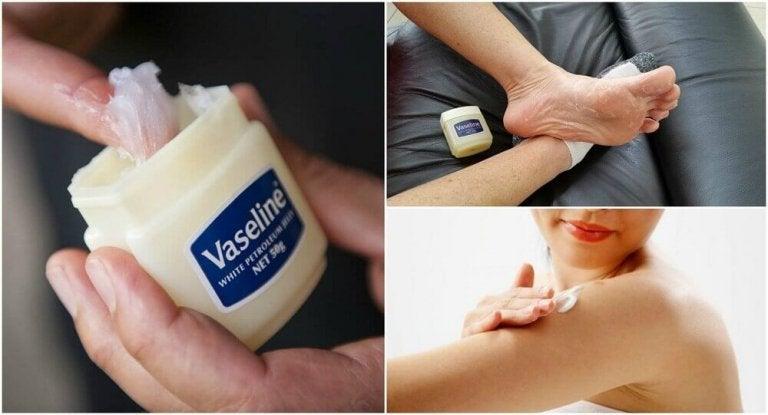 6 medisinske bruksområder for vaselin som du vil vite om