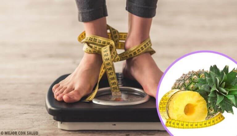 Gå ned i vekt litt hver eneste dag med ananasskall