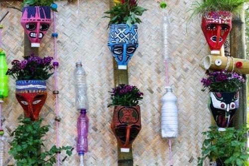 Lag vakre planteholdere ved hjelp av resirkulerte materialer