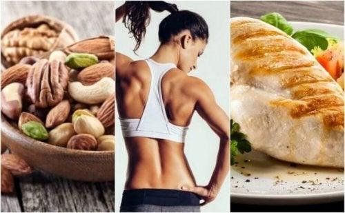 En effektiv diett for å tone musklene dine
