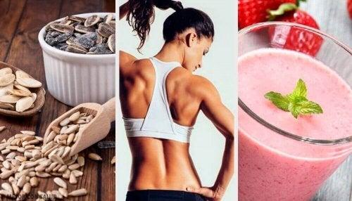 Få muskler med denne veganske dietten