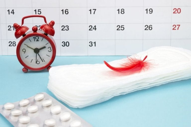 Fire råd for å redusere menstruell blødning