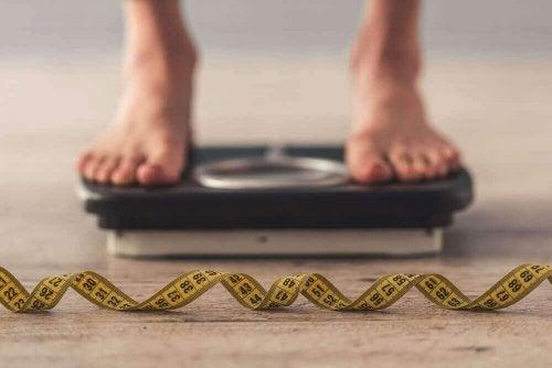 Person på vekt