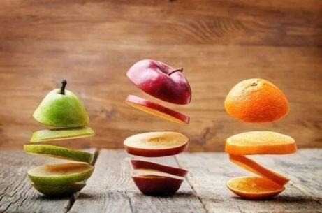 Syv balanserte måltider for å gå ned i vekt og fett