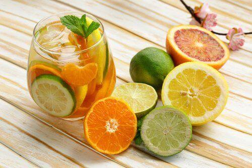 Sitrusfrukt med C-vitamin